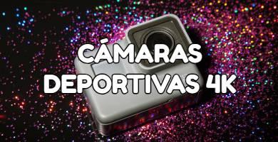 4k cámaras deportivas