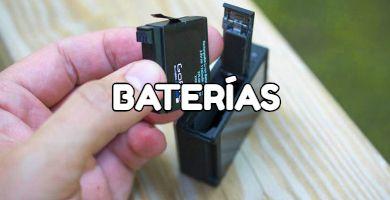 Baterías cámaras deportivas