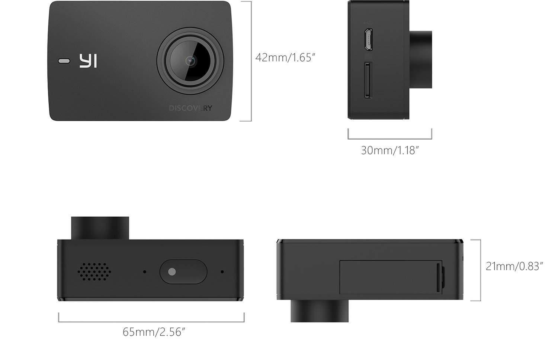 accesorios yi discovery cámara