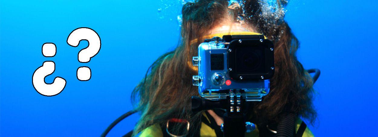 cámara deportiva 4k acuatica